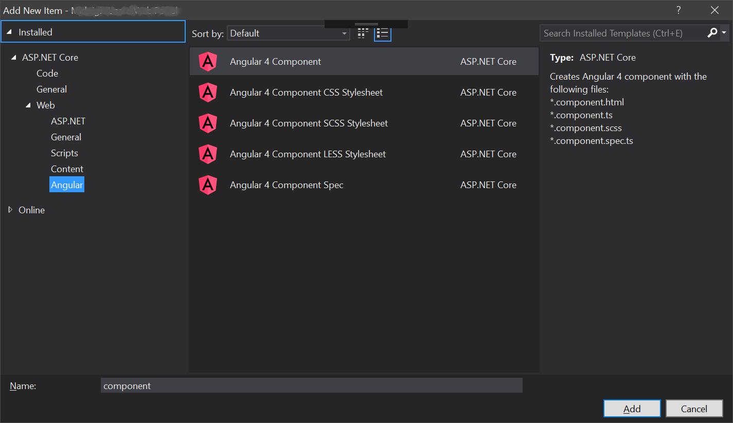 Angular Item Templates - Visual Studio Marketplace